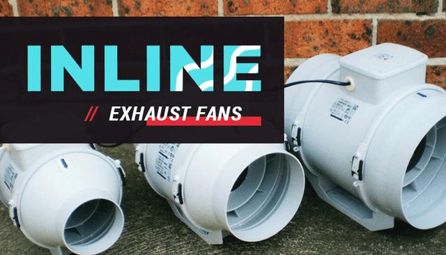 Inline Exhaust Fans