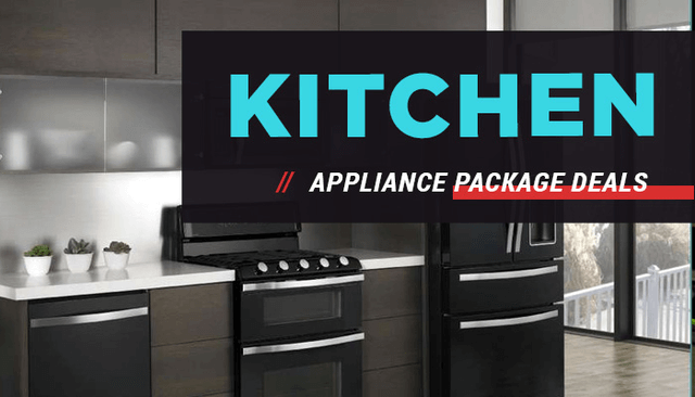 Kitchen Appliance Package Deals And More