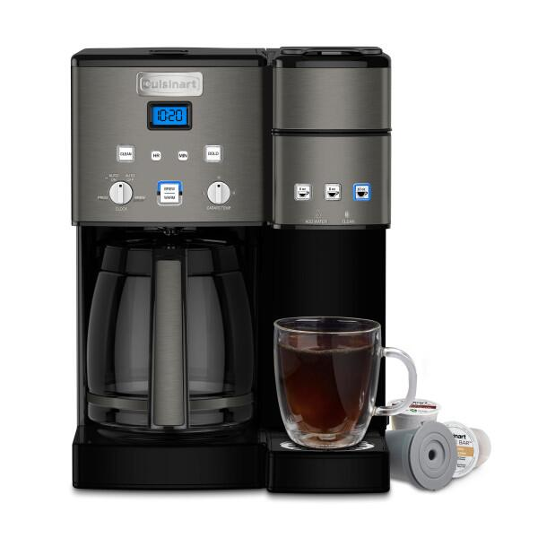 SS-15BKSP1 Coffee Center, in Black Stainless