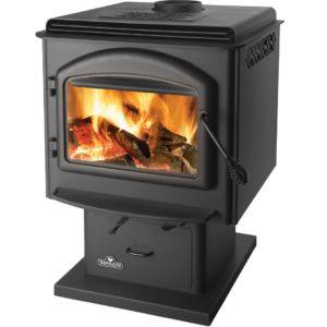 Napoleon Huntsville 1400M Wood Heating Stove Black