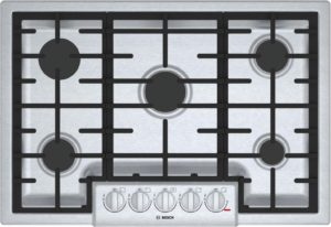 Bosch 800 Series NGM8056UC Gas Cooktop Stainless Steel
