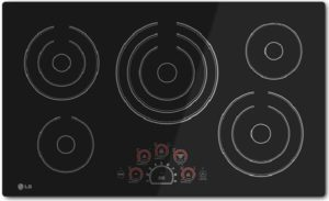 LG LCE3610SB Electric Cooktop Black