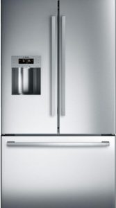 Bosch 800 Series B26FT50SNS French Door Refrigerator Stainless Steel, AFL