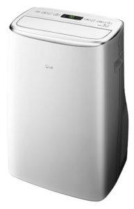 LG 14,000 BTU 115V White Smart Wi-Fi Portable Air Conditioner - LP1419IVSM
