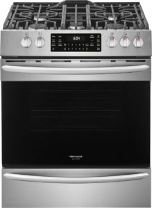 Frigidaire Gallery 30 Stainless Steel Front Control Gas Range With Air Fry