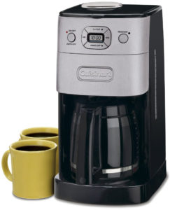 Cuisinart Grind & Brew 12 Cup Automatic Coffeemaker - DGB-625BC