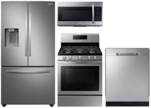 Samsung 27 Cu. Ft. French Door Refrigerator With Gas Range Package