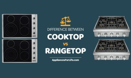 DIFFERENCE BETWEEN COOKTOP AND RANGETOP