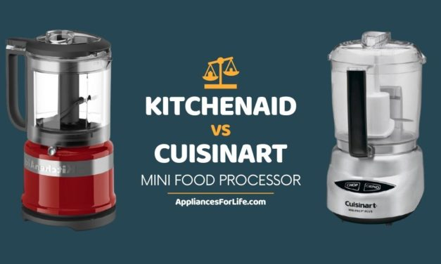 KITCHENAID VS CUISINART MINI FOOD PROCESSOR