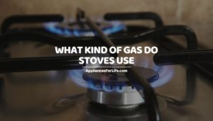 WHAT KIND OF GAS DO STOVES USE