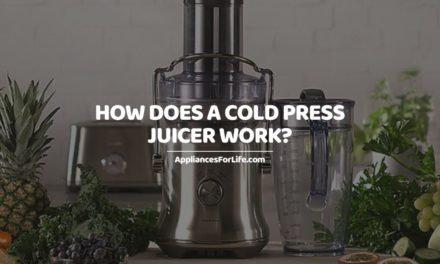 HOW DOES A COLD PRESS JUICER WORK?