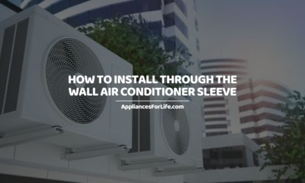 HOW TO INSTALL THROUGH THE WALL AIR CONDITIONER SLEEVE