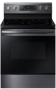 Samsung Stainless Steel Freestanding Electric Range With Convection NE59R4321SG