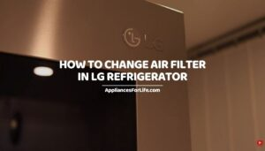 How to Change Air Filter in LG Refrigerator