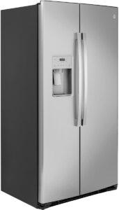 GE 21.8 Cu. Ft. Fingerprint Resistant Stainless Steel Counter-Depth Side-By-Side Refrigerator - GZS22IYNFS
