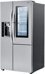 LG 26 Cu. Ft. Stainless Steel Smart Wi-Fi Enabled Side-By-Side Refrigerator With InstaView Door-In-Door