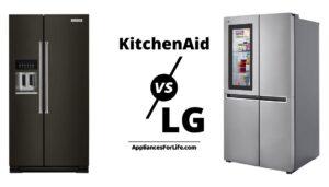 Kitchenaid vs LG refrigerator AFL