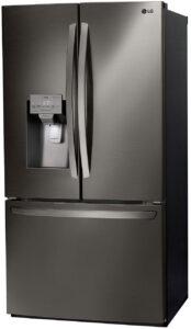 LG 26.2 Cu. Ft. PrintProof Black Stainless Steel Smart Wi-Fi Enabled French Door Refrigerator - LFXS26973D