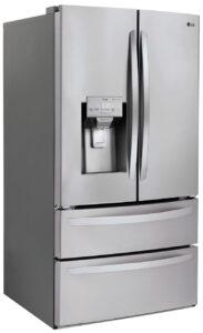 LG-4DoorFrenchDoorRefrigerator-LMXS28626S-Left-Angle-View