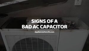Signs of a Bad AC Capacitor