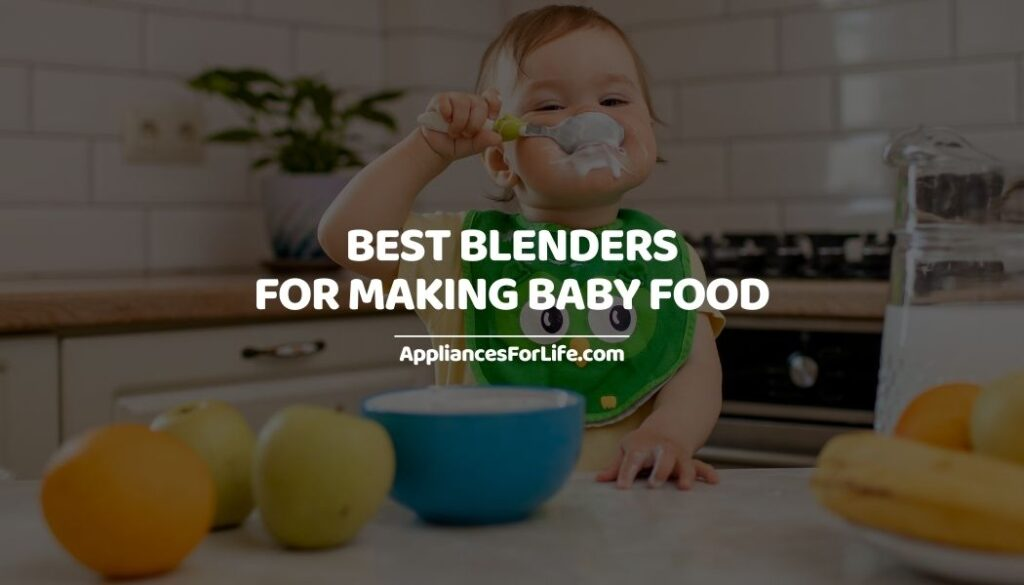 Best Blenders For Making Baby Food