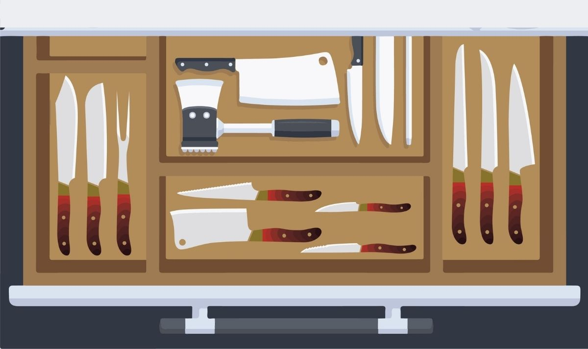 Built-in Storage Block