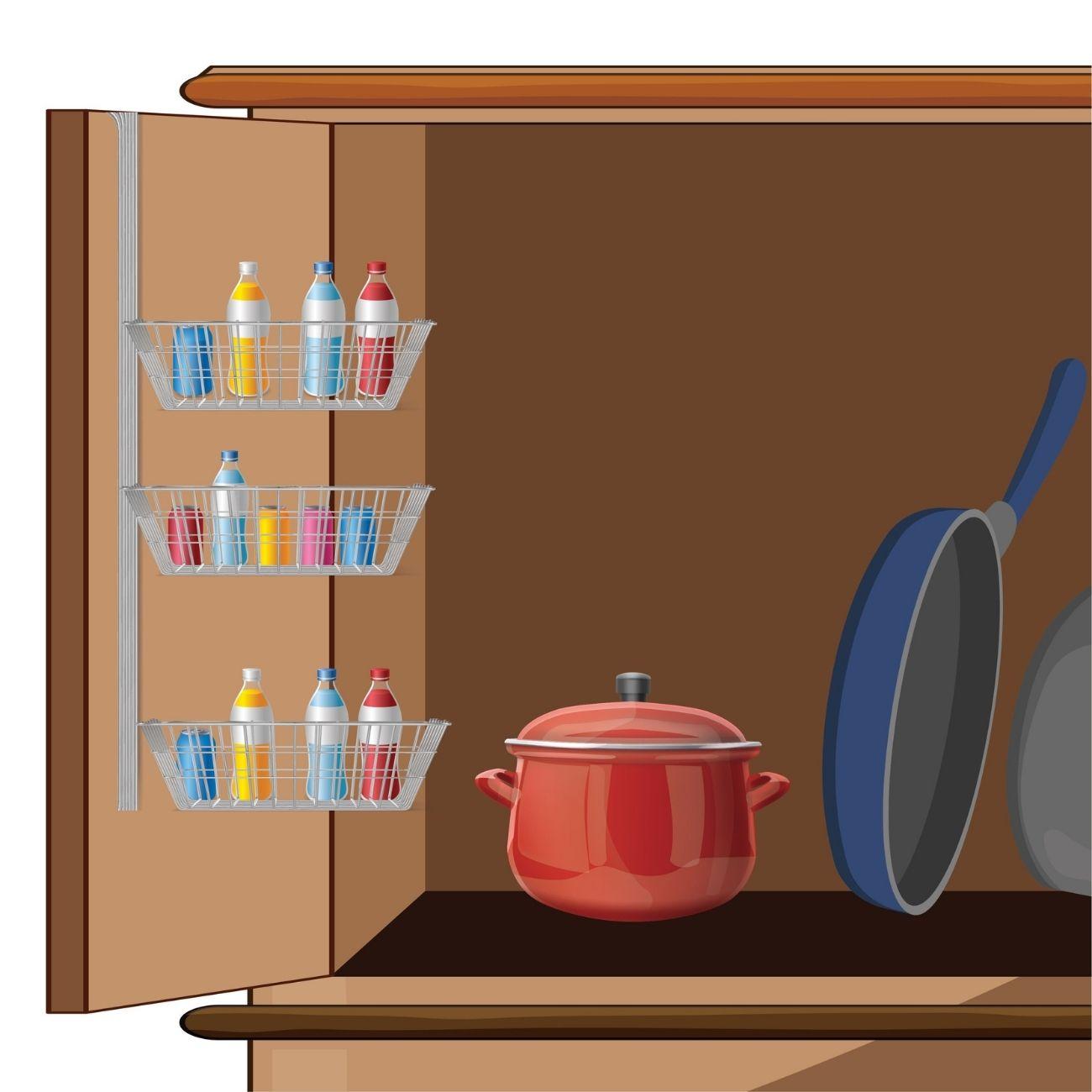 Over-cabinet Kitchen Storage Organizer