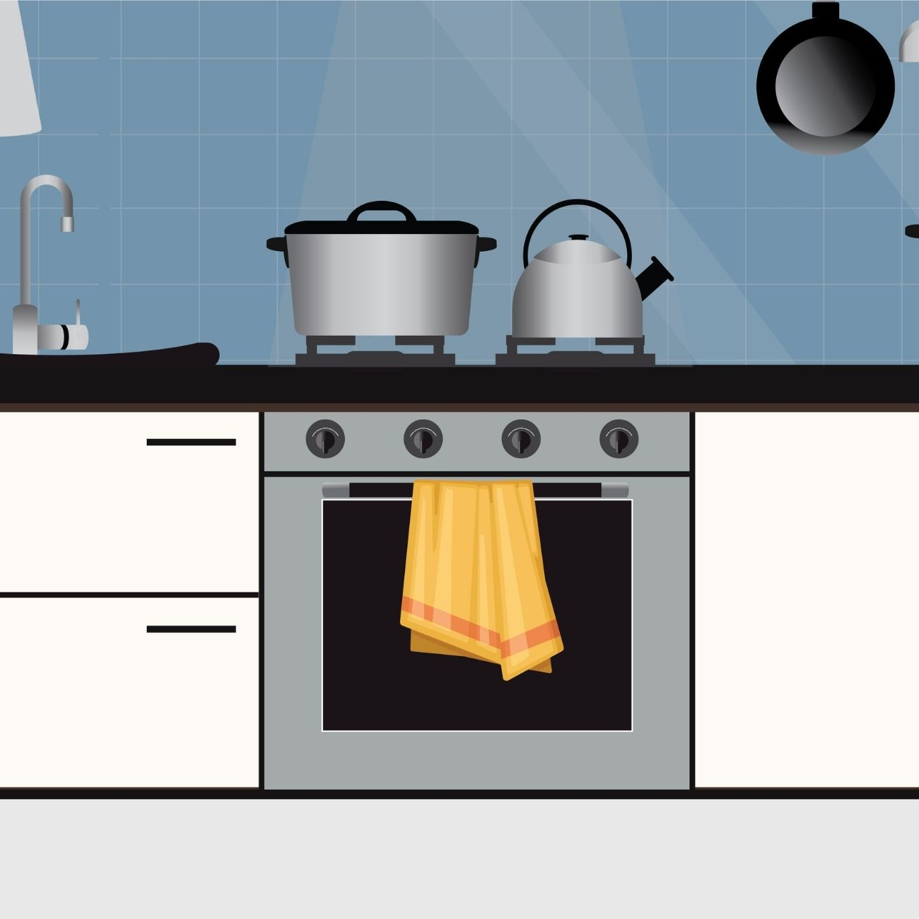 Hang Your Kitchen Towels Right