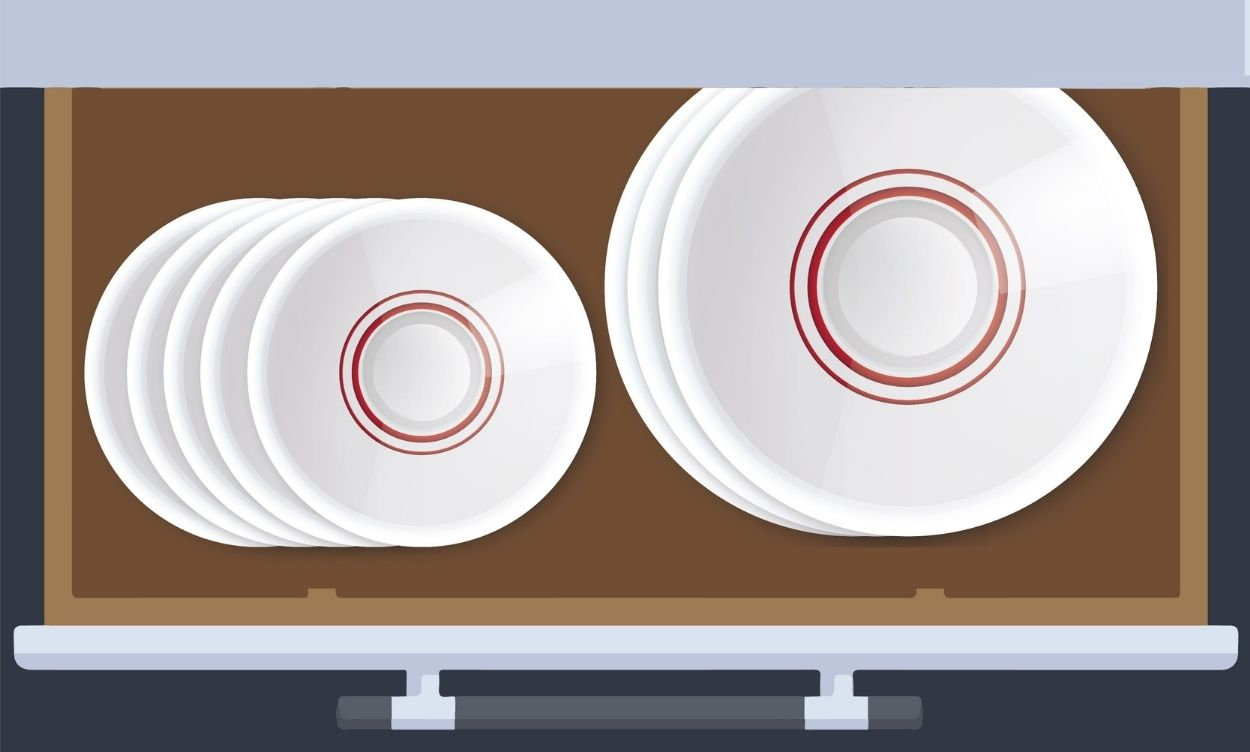 Create A Special Drawer For Dishes