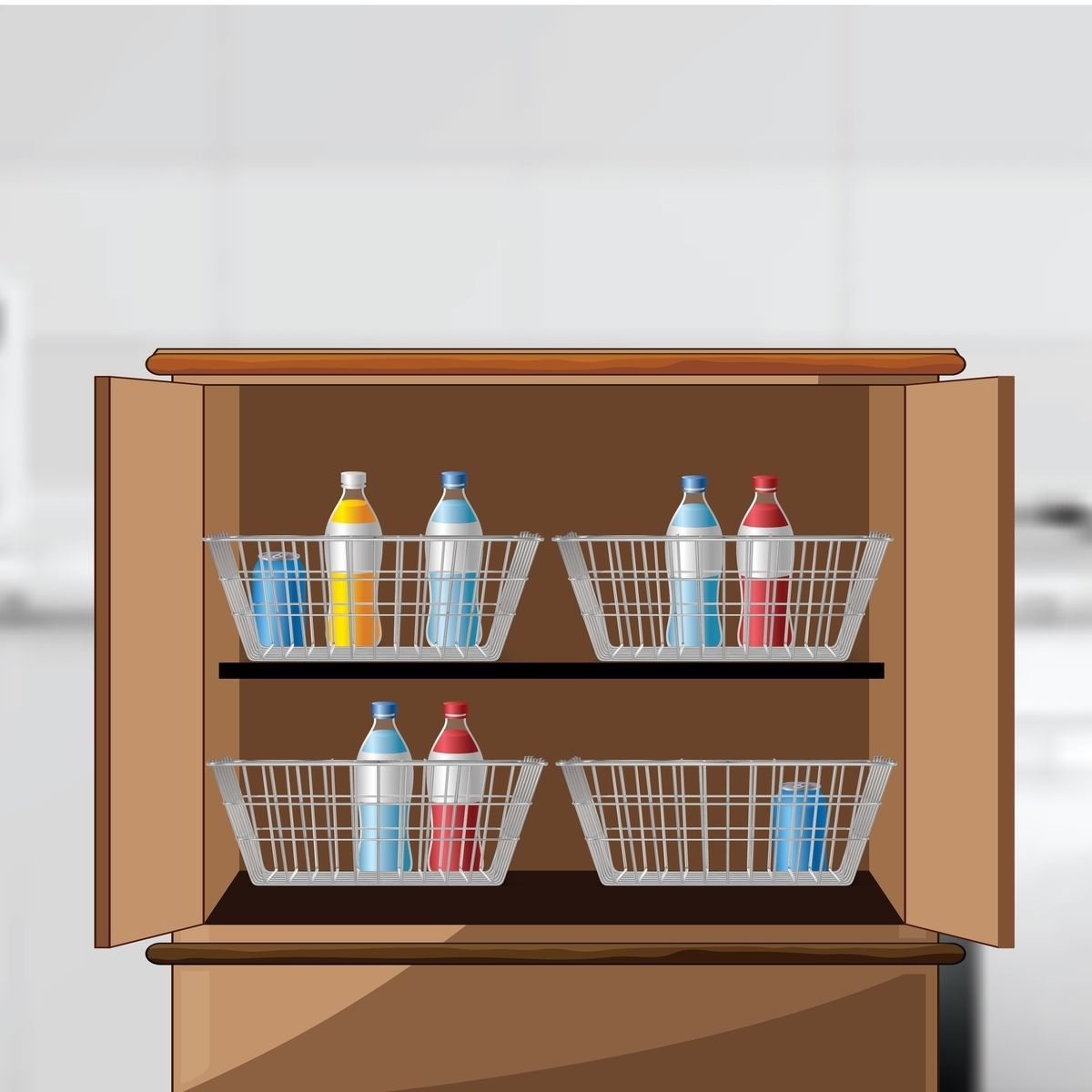 Add Drawers To Your Cabinets