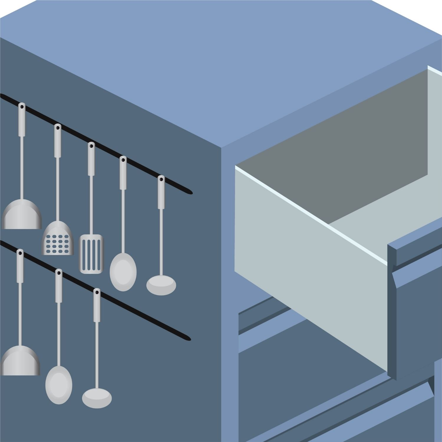 Utilizing The Sides of Your Cabinets
