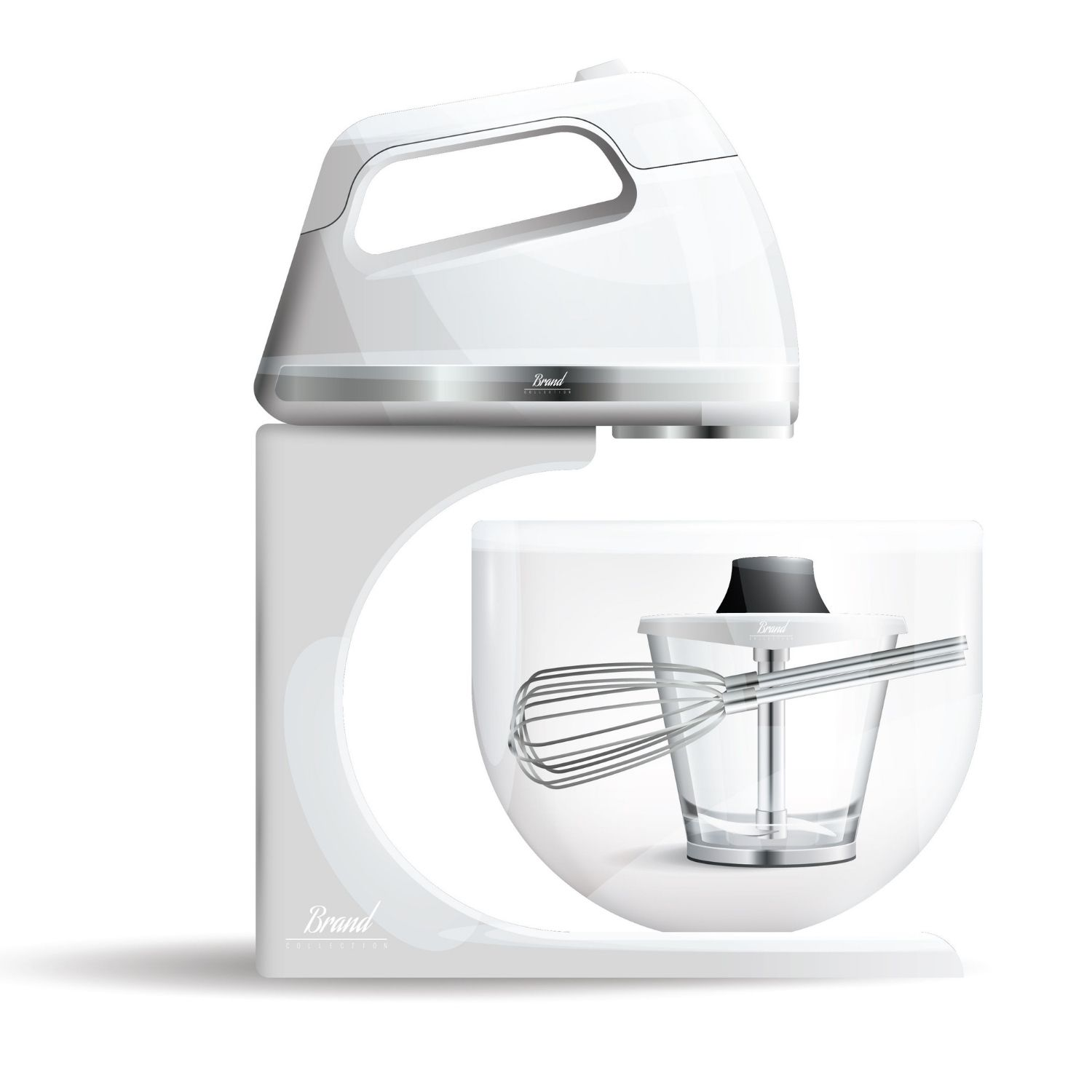Store Your Food Mixer Attachments in its Bowl