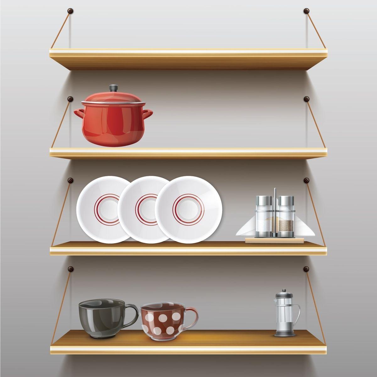 Creative Shelf Storage