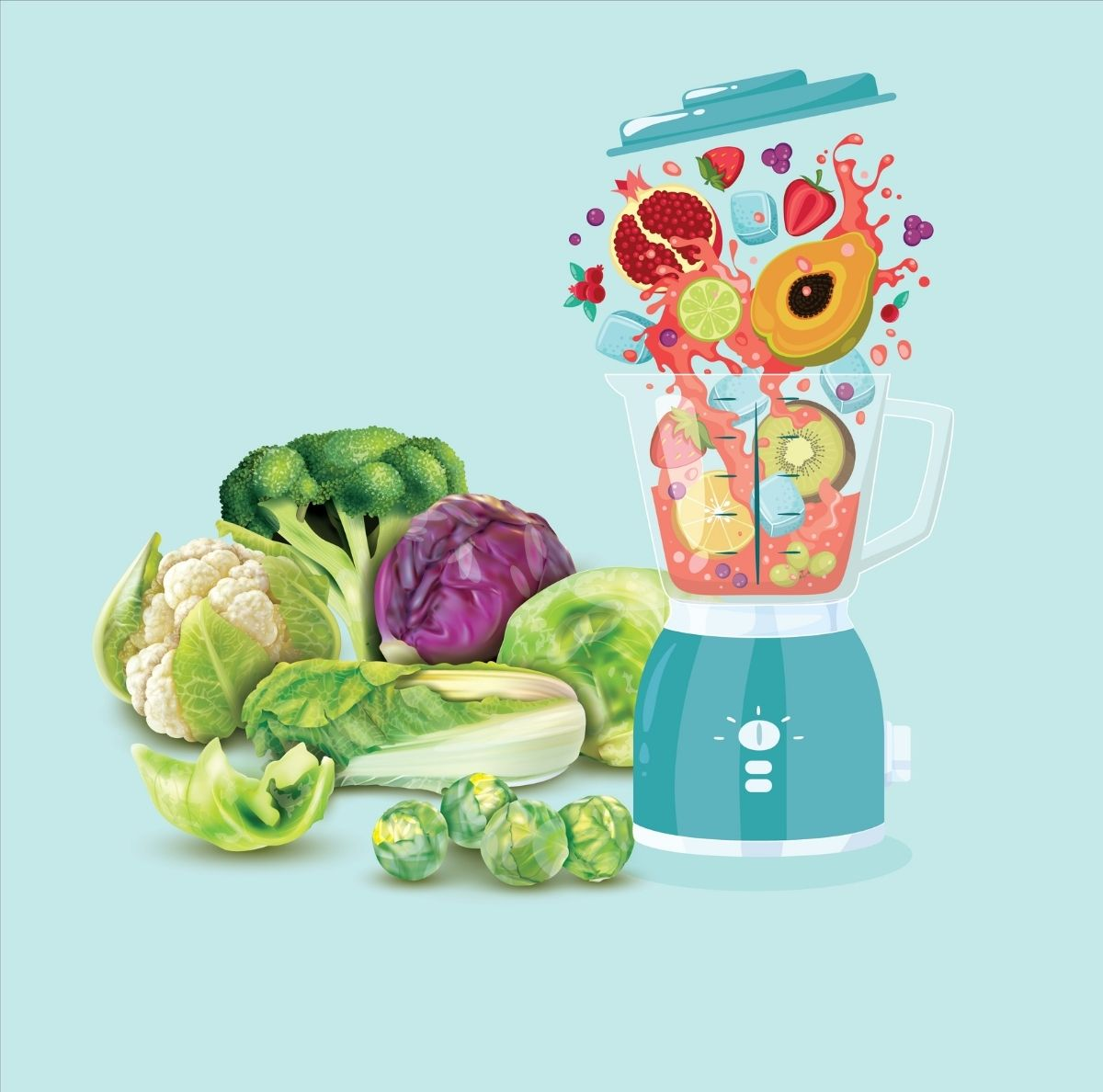 Can comfortably process hard vegetables and fruits