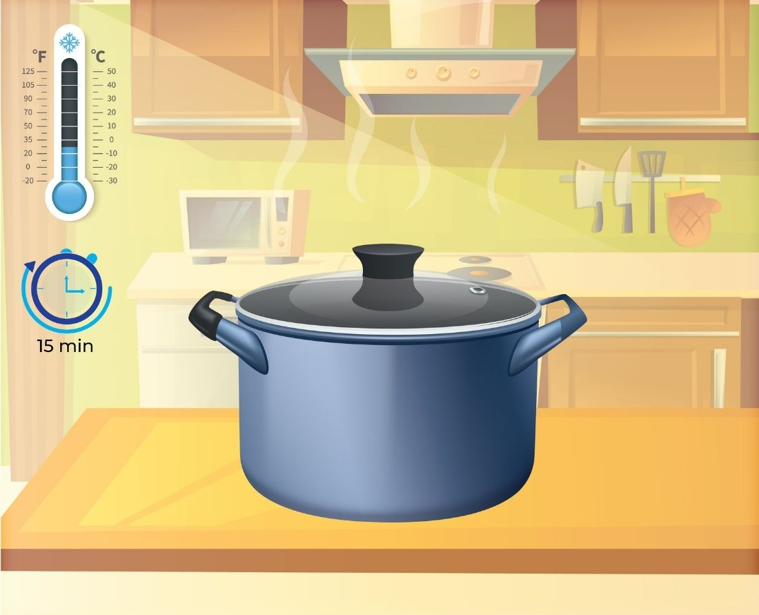 Take your pressure cooker down from the stovetop